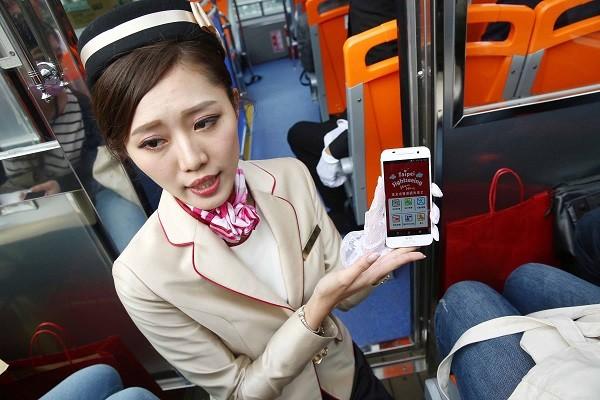 台北双层巴士上路共6票种 起点台北火车站