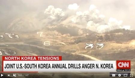 """危险征兆显现 朝鲜半岛战争""""就差一个火花"""""""