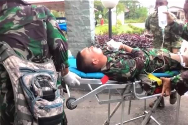 印尼军队演习 用中国制火炮击中自家官兵4死8伤