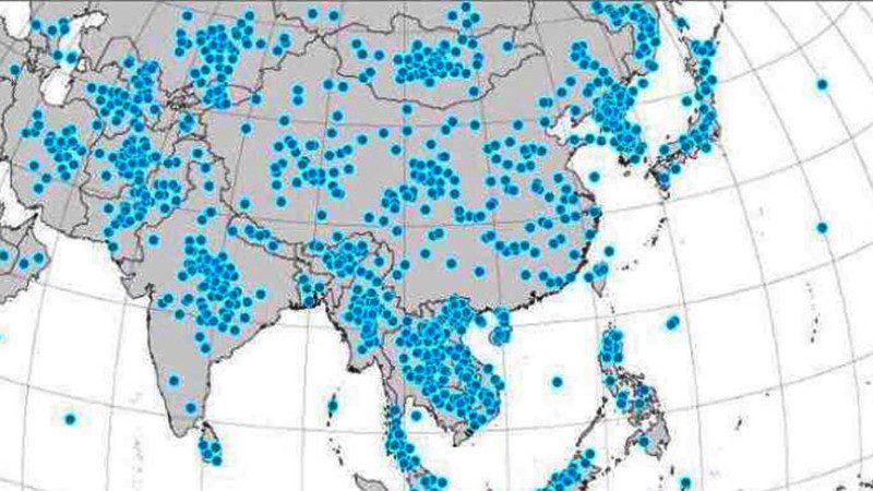 让美国人在地图上标出朝鲜,结果让朝鲜人民哭惨了