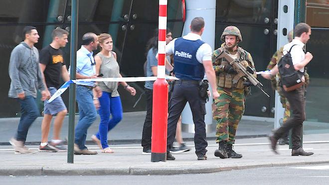布鲁塞尔爆炸案 男嫌来自摩洛哥 备钉子炸弹(视频)
