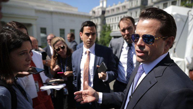 白宮通訊主任爭議不斷 在任僅10天離職