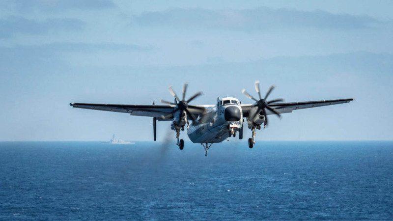 運輸機墜海 美軍停止搜尋3失蹤士兵