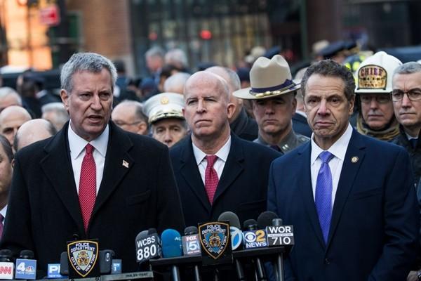 纽约自杀炸弹恐攻 州长:我们不会被吓倒