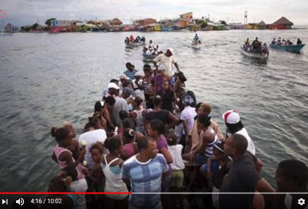 這個小島的人們寧可世世代代擠在一起也不願離開 原因竟然是沒有蚊子(視頻)