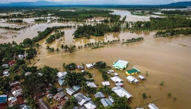 天秤風暴強襲菲南 滅村橋垮路斷133人喪生