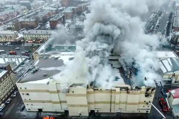 西伯利亞商場違規奪64命 已逮捕5人