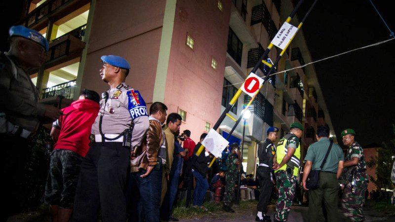 印尼3座教堂爆恐攻 疑炸弹客基地自爆酿3死2伤