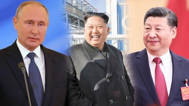 借中俄壮胆?传金正恩欲赴青岛与中俄三方会谈
