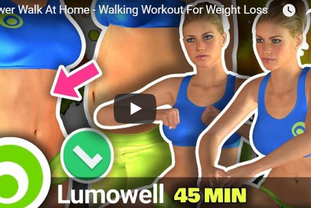 步行锻炼减肥 在家就能快速瘦身(视频)