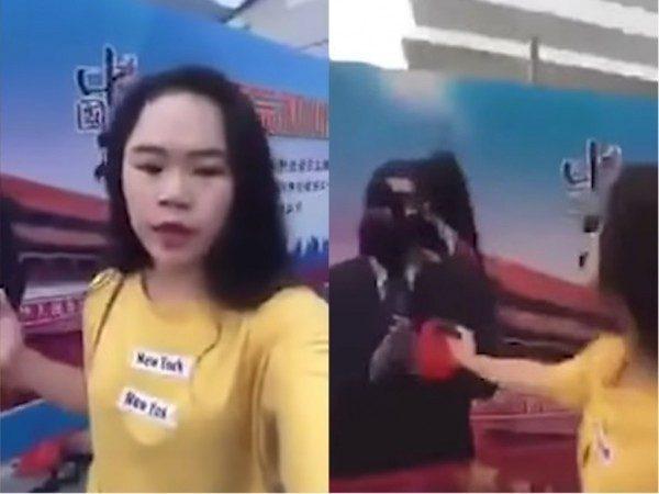 潑墨女孩人間蒸發?上海警方首回應:不知情