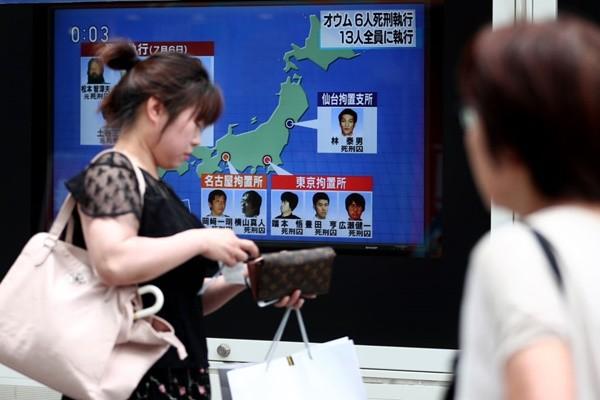 日本再處決6共犯 東京地鐵毒氣案歷23年13人終伏法