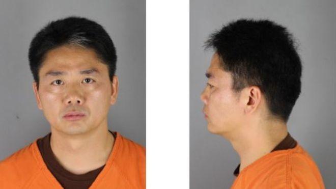 美國警方:劉強東涉嫌「強暴」 屬一級重罪