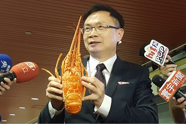 台湾人爱吃海鲜 贸协利用龙虾拼外交