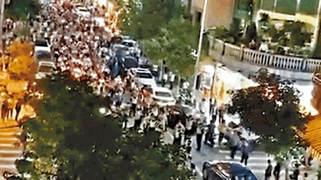 習近平南巡不平靜 廣東爆萬民抗議危廢物處理廠(視頻)