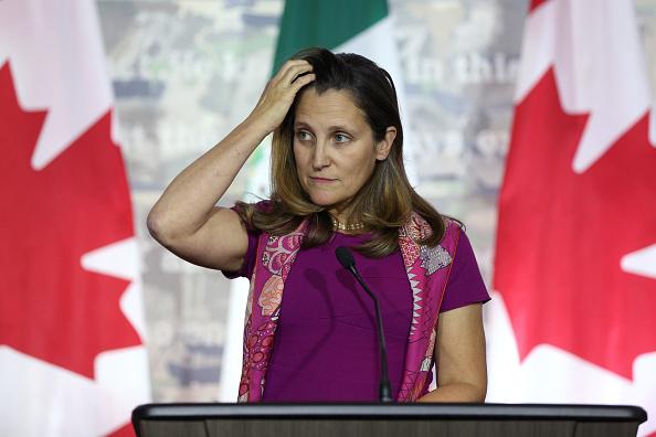加拿大外长:逮捕孟晚舟时已通报中共外交部