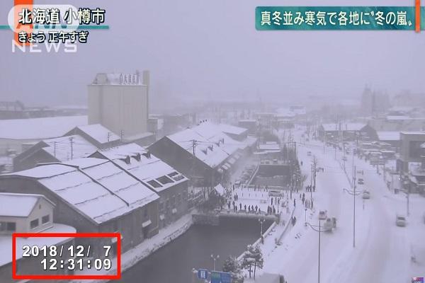 北海道零下20度 暴雪估达50公分 观光客留意航班