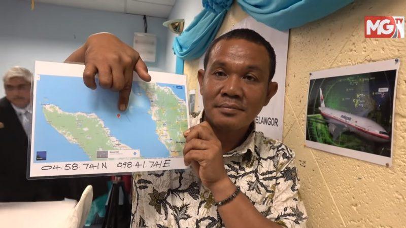 MH370失蹤成謎 漁夫:目睹墜入馬六甲海峽