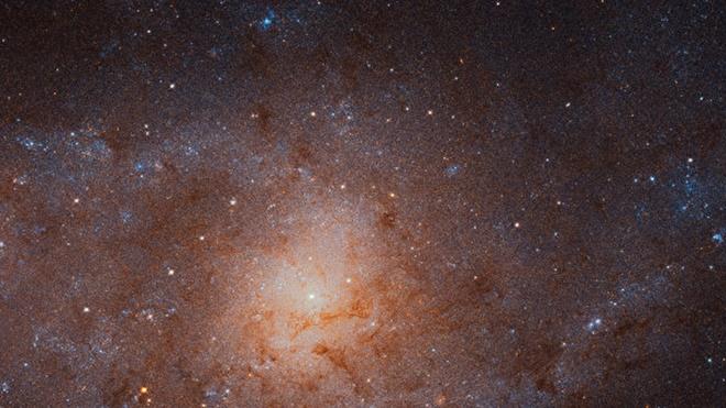 NASA拍到三角座星系最清晰图 达6亿多画素