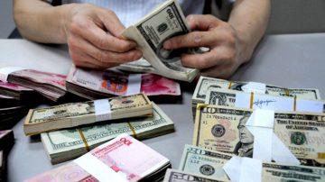 中国市场恐慌弥漫 人民币兑美元创3个月新低