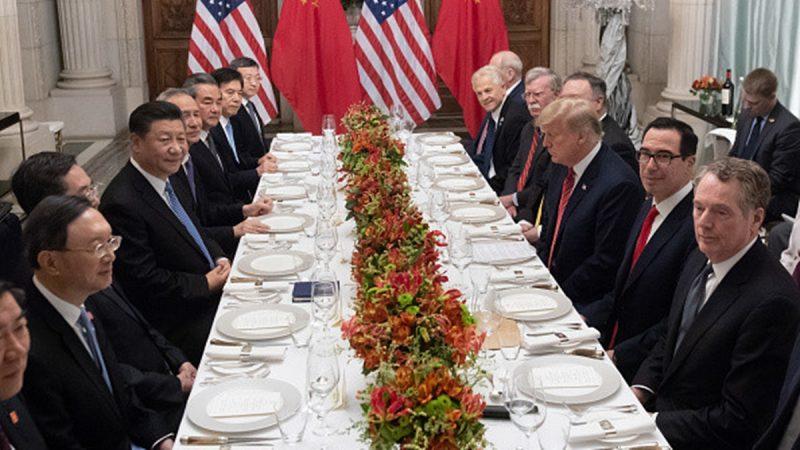 文武:中国人民欢迎美国对中共打贸易战