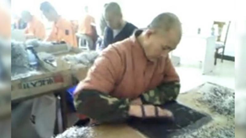 独家调查:劳教所秘拍视频揭中共奴工黑幕(视频)