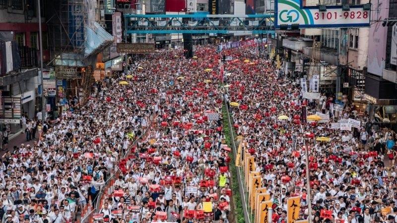 一分钟了解反送中条例 香港人为何群情激愤?