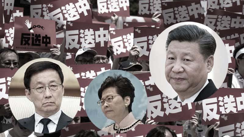 未具名學者促習近平撤換特首 北京內鬥升溫?