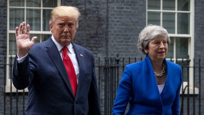 川普会见英首相谈及华为 英高官密集表态