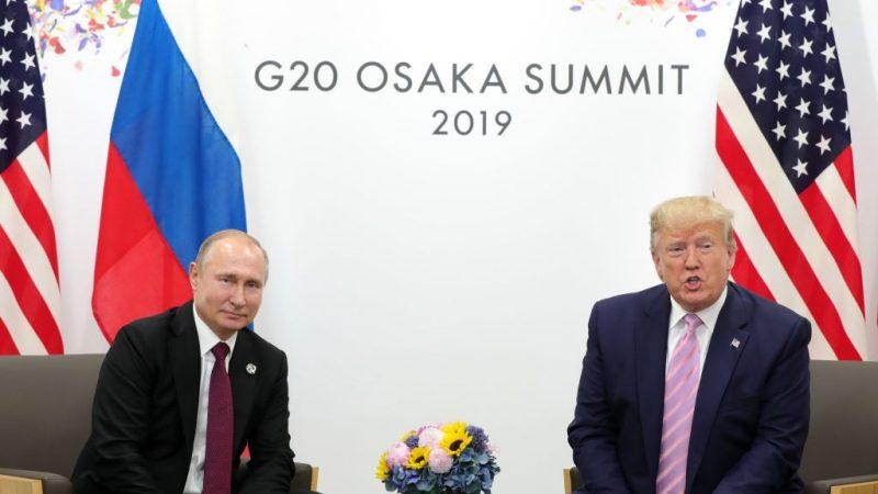 G20峰会 普京邀川普2020访莫斯科 川普积极回应