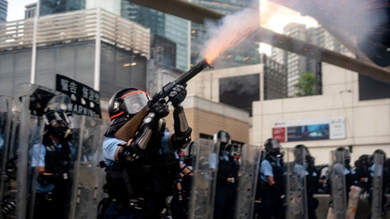 """反送中升级为""""颜色革命""""?中共黑手隐现香港"""