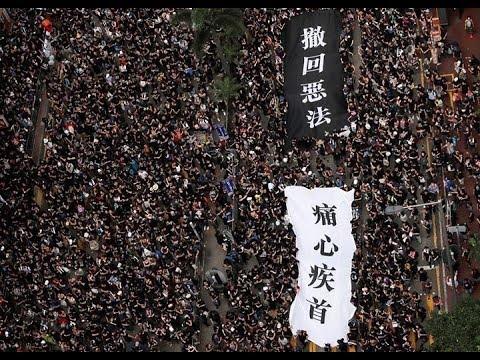 《石涛聚焦》200万人6.16大游行 港人创造历史 林郑致歉