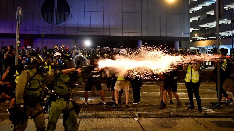 香港7·21再爆流血 港警开枪 黑帮无差别打人