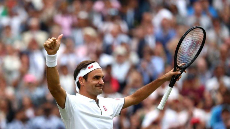 費德勒溫網晉級 28年來大滿貫8強最老選手