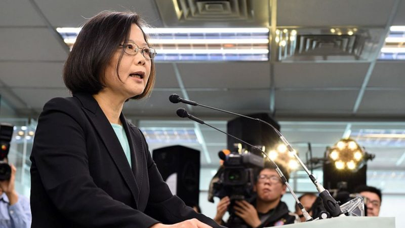 """台湾最新民调:近9成民众反对""""一国两制"""""""