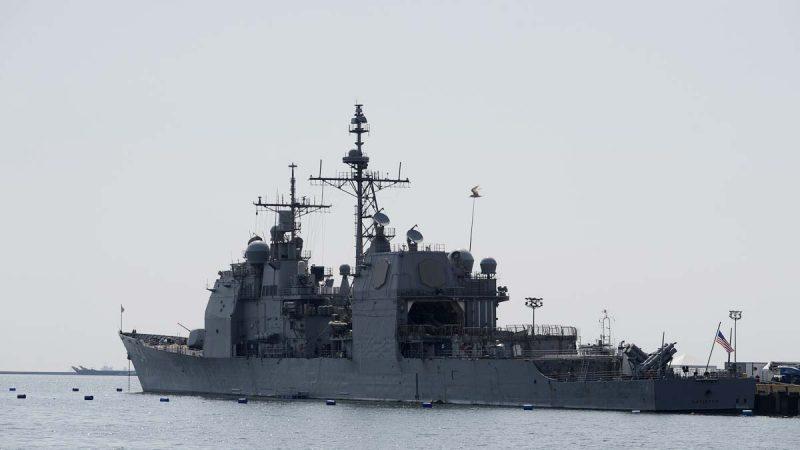 针锋相对:中共刚发国防白皮书 美舰穿行台海