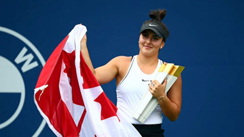 罗杰斯杯网赛 小威伤退 加拿大新星夺冠