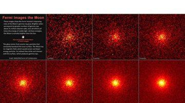 伽马射线望远镜:月球其实比太阳更亮