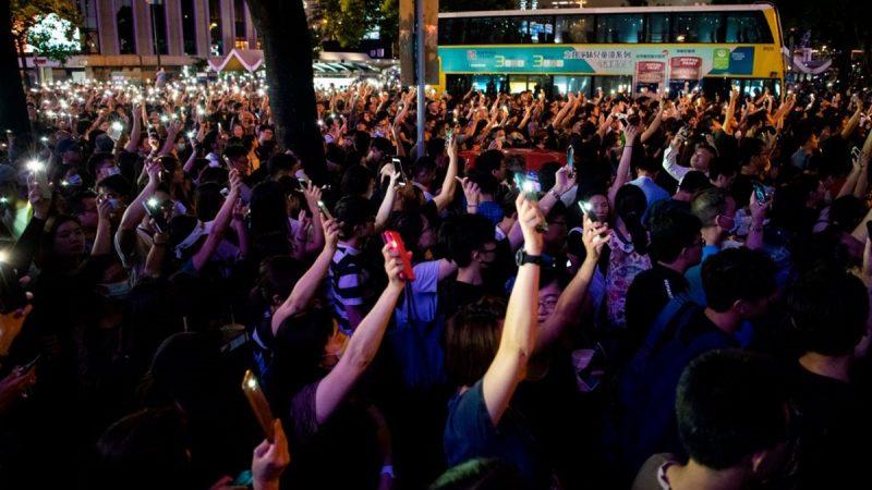 【直播回放】香港8.2反送中 公務員中環大集會