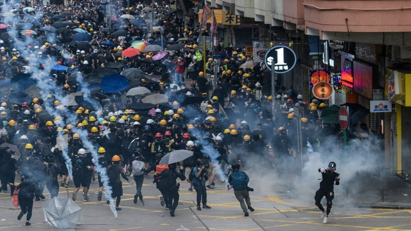 法媒:香港抗爭步入關鍵的轉折期