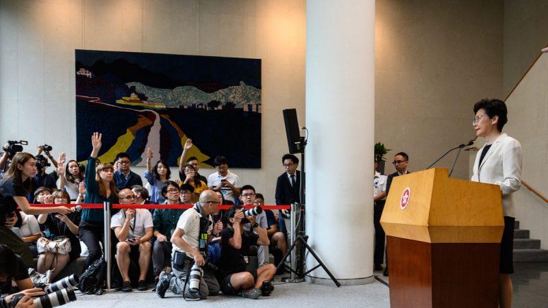 林郑闭门会议:拒五大诉求 多抓人直到无人示威