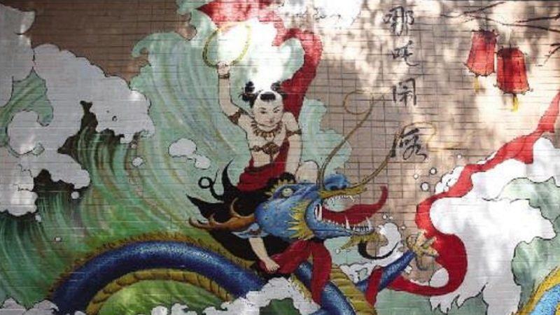 """广州有个""""哪吒村""""百年来奉哪吒为守护神"""