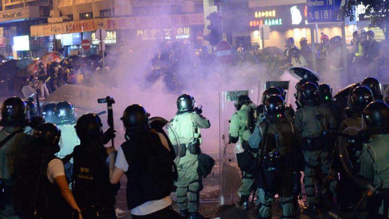 港警暴力升级 联合国吁独立调查