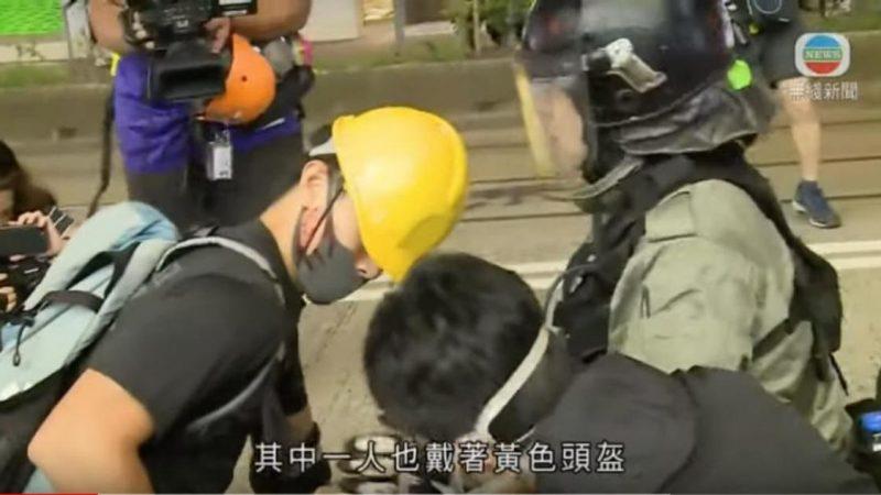 铜锣湾8.11抗议者证实:有卧底煽动暴力行为