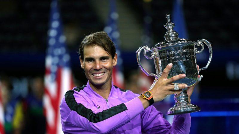 納達爾4奪美網冠軍 大滿貫19冠緊追費德勒