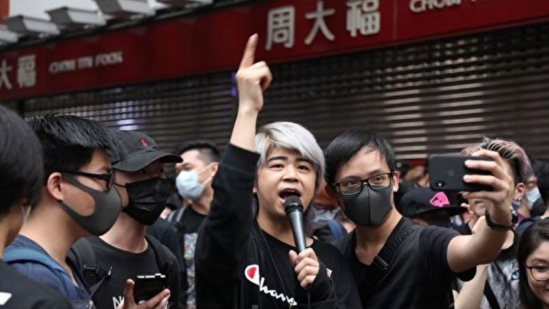 见证日本人海撑香港 阮民安获广州人加油打气