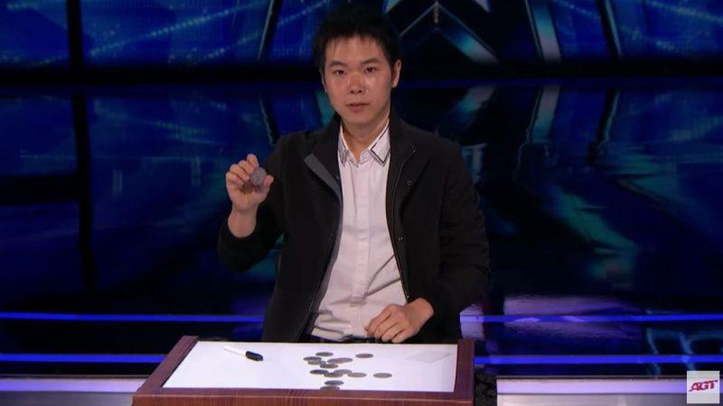 硬币来去无踪 台魔术师震撼《美国达人秀》