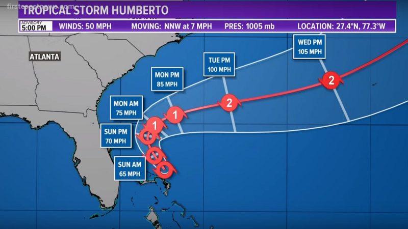 才遭颶風重創 熱帶風暴挾帶風雨再襲巴哈馬