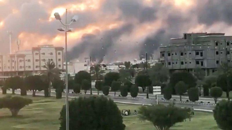 沙特油廠遭襲 川普釋戰備儲油並稱「砲彈已上膛」