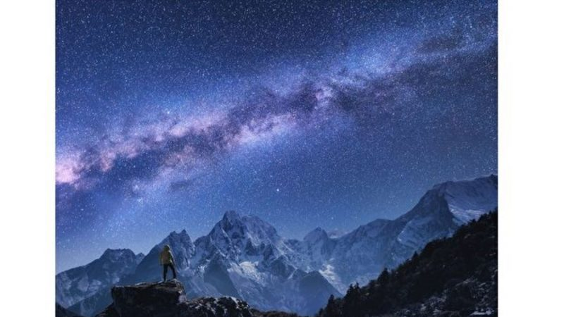 新发现:银河系内也有崇山峻岭